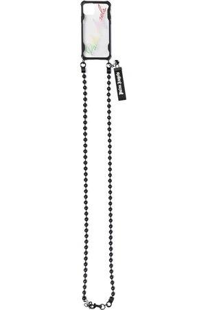 Palm Angels Uomo Cellulare - Cover per iPhone 12 Pro con catena - Toni neutri