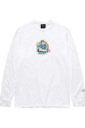 Huf Uomo T-shirt a maniche lunghe - MAGLIA MANICA LUNGA CHUN-LI