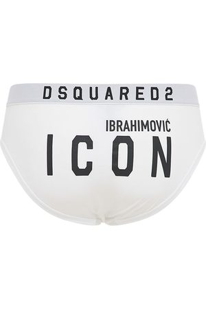 "Dsquared2 Slip ""ibrahimovic Icon"" In Cotone Stretch"