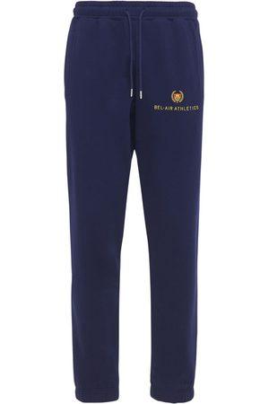 BEL-AIR ATHLETICS Uomo Pantaloni - Pantaloni In Felpa Con Logo