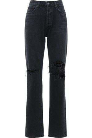 """AGOLDE Jeans Dritti Vita Bassa """"lana"""""""