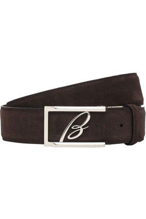 "BRIONI Uomo Cinture - Cintura ""new Elty"" In Pelle 3.5cm"