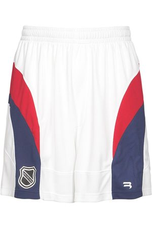 Balenciaga Shorts Hockey In Techno Jersey Con Logo