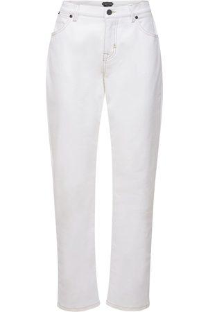 Tom Ford Jeans Boyfriend In Denim Di Cotone Stretch