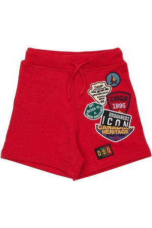 Dsquared2 Shorts In Felpa Di Cotone