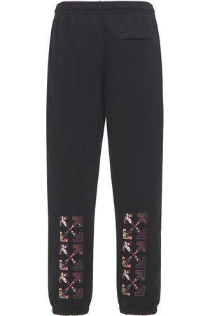 """OFF-WHITE Pantaloni Slim Fit """"caravaggio"""" In Felpa"""