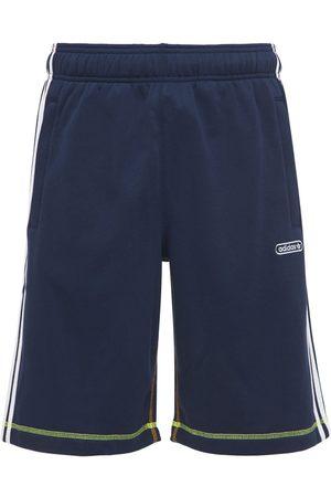adidas Shorts In Felpa Di Misto Cotone