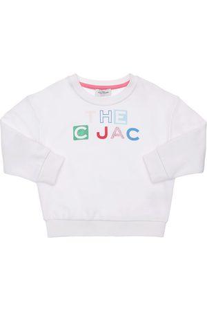 Marc Jacobs Bambina Felpe - Felpa In Cotone Con Stampa Logo