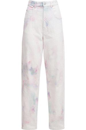"Isabel Marant Jeans Baggy ""corfy"" In Denim Candeggiato"