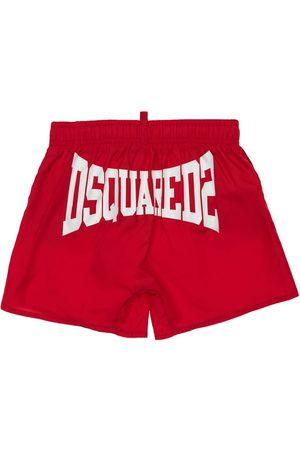 DSQUARED2 Shorts Mare In Nylon Con Logo