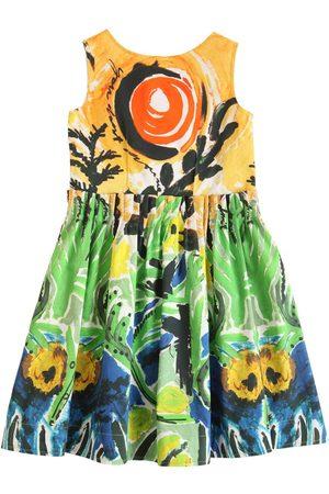 Marni Bambina Vestiti estivi - Vestito In Raso Di Cotone