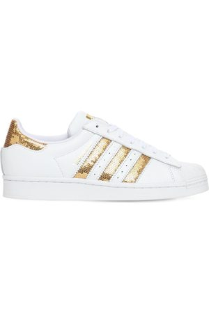 """adidas Sneakers """"superstar"""" In Pelle Con Paillettes"""