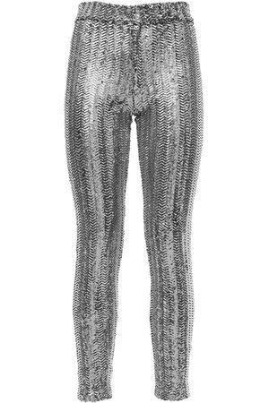 """Isabel Marant Pantaloni Skinny """"todiz"""" Con Paillettes"""