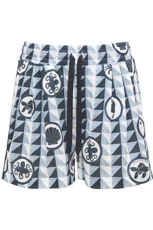 Dolce & Gabbana Shorts In Popeline Di Cotone