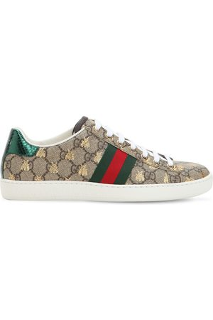 "Gucci Donna Sneakers - Sneakers ""new Ace Gg Supreme"" In Tela 20mm"