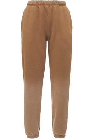 LES TIEN Pantaloni In Felpa Di Cotone Dégradé
