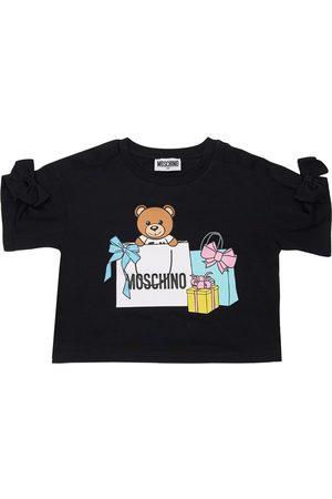 Moschino Bambina T-shirt - T-shirt In Jersey Di Cotone