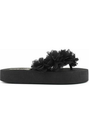 Colors of California Eva Flip Flop Flower Trim - ciabatte - donna