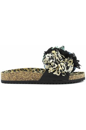 Colors of California Donna Sandali - Slide With Flower Trim - ciabatte - donna