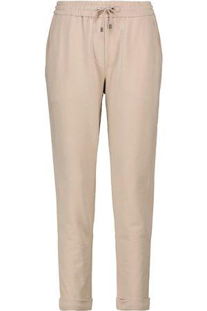Brunello Cucinelli Pantaloni sportivi in cotone