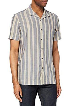 FIND Camicia in Cotone a Manica Corta Uomo, , M, Label: M