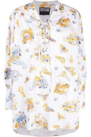 Versace Jeans Couture Camicia con stampa brocca