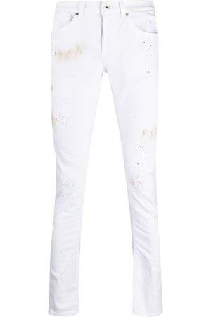 Dondup Pantaloni slim con stampa