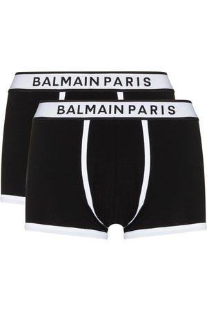 Balmain Uomo Boxer shorts - Set di due boxer con stampa