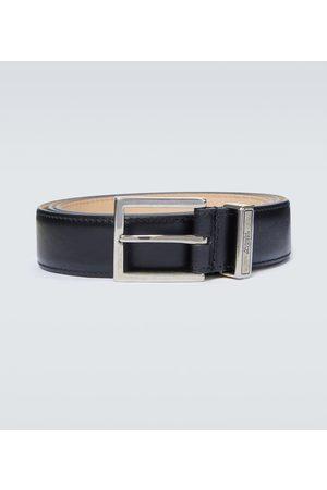 Alexander McQueen Cintura Identity in pelle