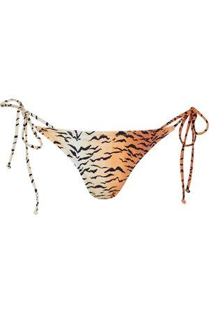 Reina Olga Donna Bikini - Slip bikini Miami a stampa tigrata