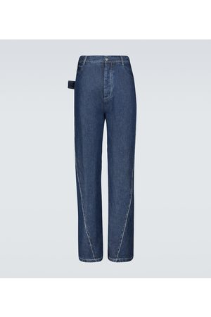 Bottega Veneta Jeans a gamba ampia