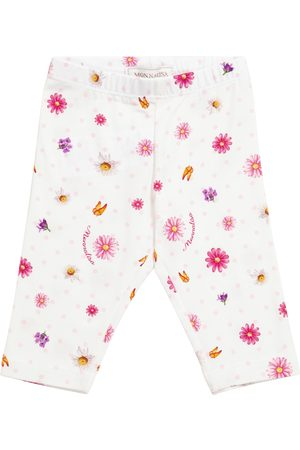 MONNALISA Bambina Leggings & Treggings - Baby - Leggings a stampa in cotone stretch