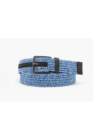 Levi's Woven Stretch Belt / Navy Blue
