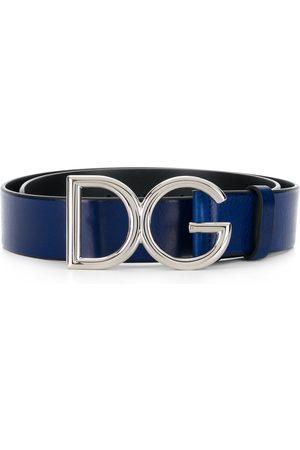 Dolce & Gabbana Uomo Cinture - Cintura con fibbia DG