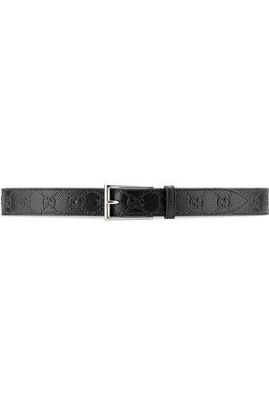 Gucci Cintura con fibbia squadrata GG