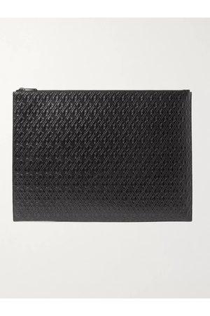Saint Laurent Uomo Portafogli e portamonete - Logo-Debossed Leather Pouch