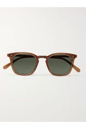 Mr. Leight Uomo Occhiali da sole - Getty S Square-Frame Acetate and Gold-Tone Titanium Sunglasses