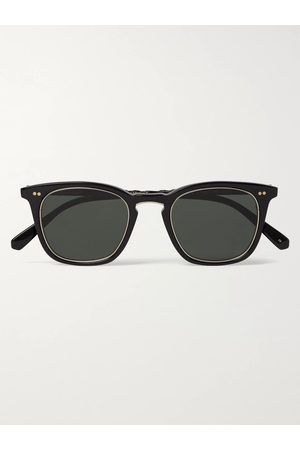 Mr. Leight Uomo Occhiali da sole - Getty S Square-Frame Acetate and Titanium Sunglasses