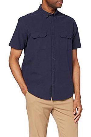 FIND Camicia in Cotone a Manica Corta Uomo, , 3XL, Label: 3XL