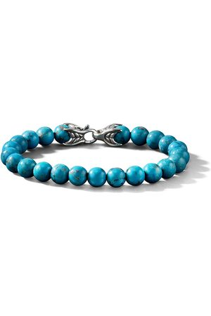 David Yurman Bracciale Spiritual Beads con turchesi - SSBTH