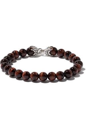 David Yurman Uomo Bracciali - Bracciale 'Spiritual Beads' con occhio di tigre - SSBRE