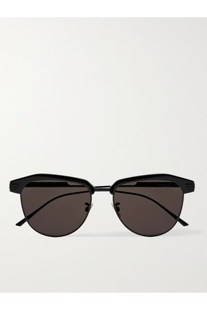 Bottega Veneta Uomo Occhiali da sole - D-Frame Acetate and Metal Sunglasses