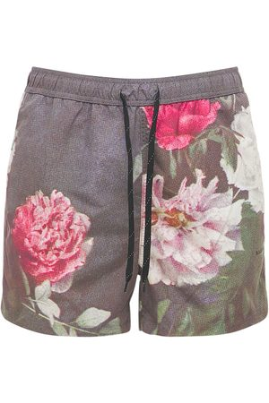"""Soulland Shorts """"william"""" Con Stampa Floreale"""