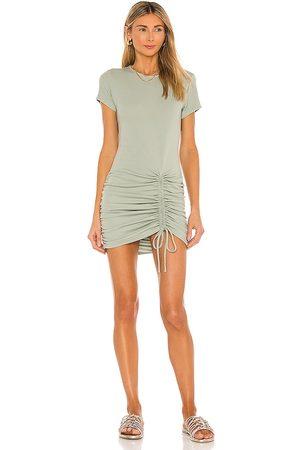 Minkpink Emery Mini Dress in - Sage. Size L (also in S, XS, M).