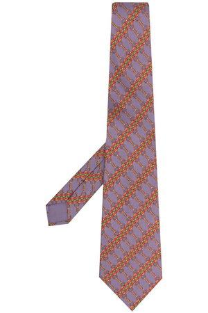 Hermès Cravatta con stampa Pre-owned anni 2000