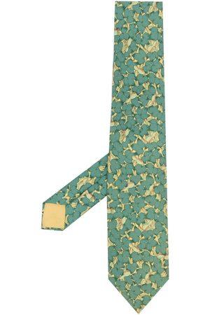 Hermès Cravatta a fiori Pre-owned anni 2000