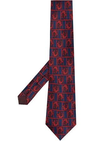 Lanvin Cravatta con stampa paisley anni '70