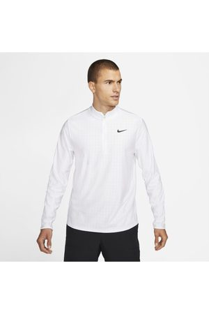 Nike Maglia da tennis con zip a metà lunghezza Court Dri-FIT Advantage - Uomo