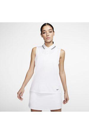 Nike Polo da golf senza maniche Dri-FIT Victory - Donna