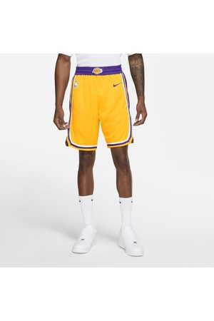 Nike Shorts Los Angeles Lakers Icon Edition Swingman NBA - Uomo